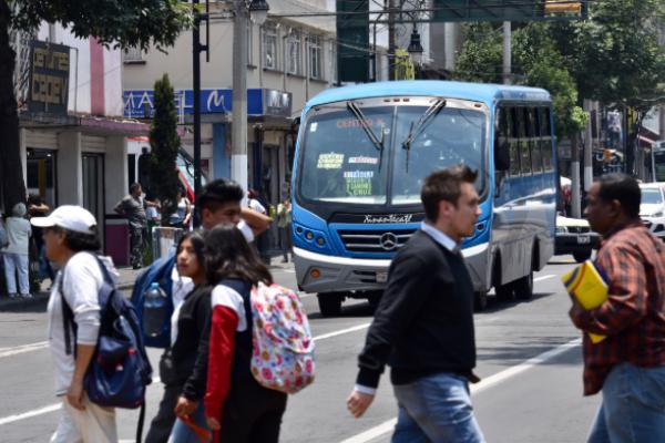 Muchas unidades de transporte público del Estado de México ya cuentan con cámara de vigilancia