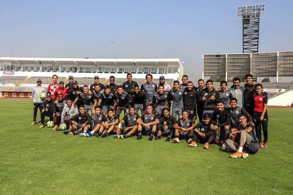 Bonilla definió al equipo de Juárez como una empresa solvente con capacidad deportiva. Foto: Lobos BUAP