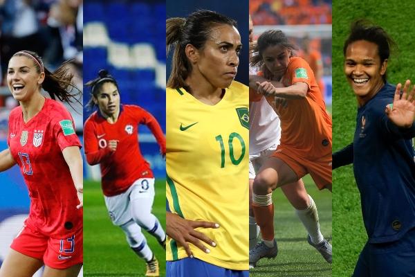 5 futbolistas a seguir en el Mundial Francia 2019