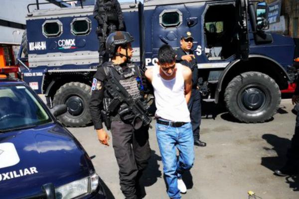 Los implicados quedaron a disposición del Ministerio Público. Foto: Especial.