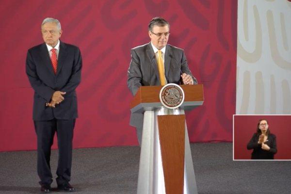 Mañanera AMLO López Obrador Ebrard