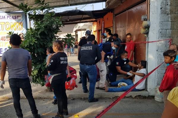 al menos 6 muertos y 30 heridos por trailer sin frenos cuautla mexico