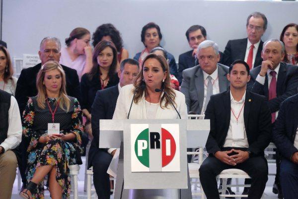 PRI Claudia Ruiz Massieu Elección Nacional
