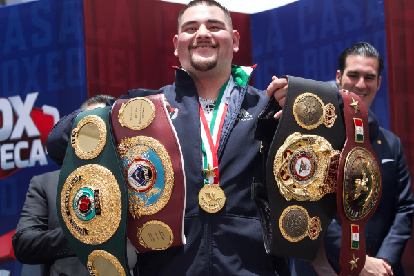 Andy Ruiz Jr. busca que la revancha sea en México