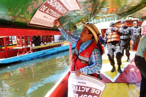 operativo trajineras xochimilco