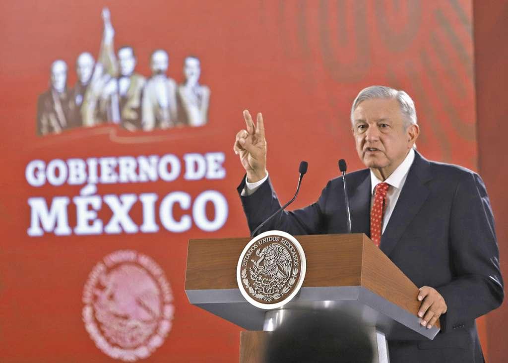 El avalúo se dio a conocer por el Presidente en su conferencia de prensa mañanera.FOTO: VÍCTOR GAHBLER