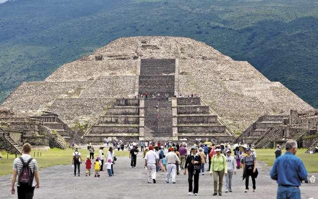 El año pasado México ocupó la sexta posición entre los países más visitados del mundo.FOTO: ESPECIAL