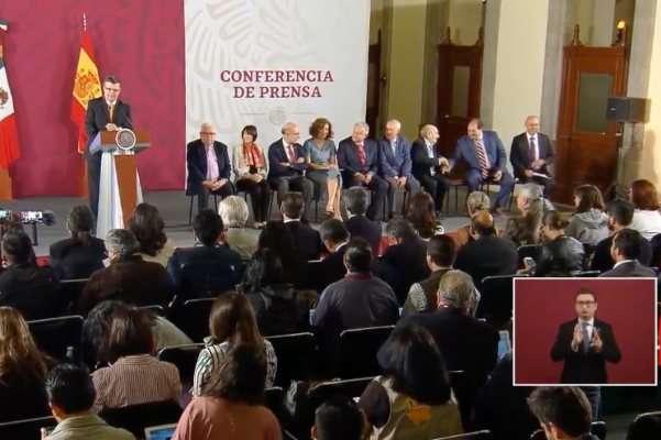 AMLO España La Mañanera López Obrador