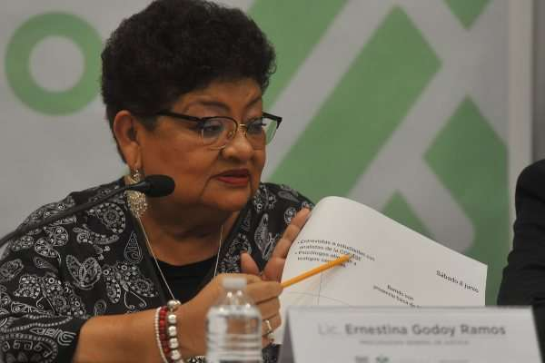 Ernestina Godoy Norberto Ronquillo CDMX
