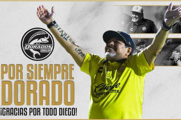 Maradona deja a Dorados.
