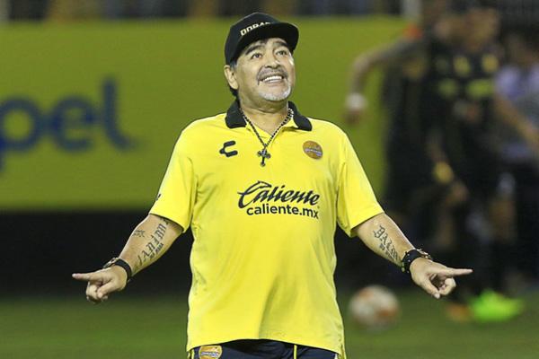 El argentino dirigió por un año al equipo de Sinaloa. Foto: Especial.