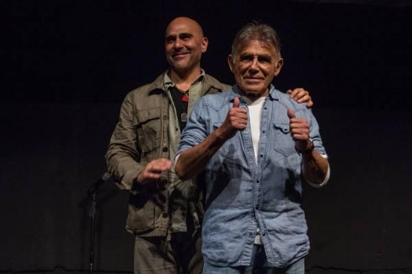 Héctor Suárez Gomis y Héctor Suárez