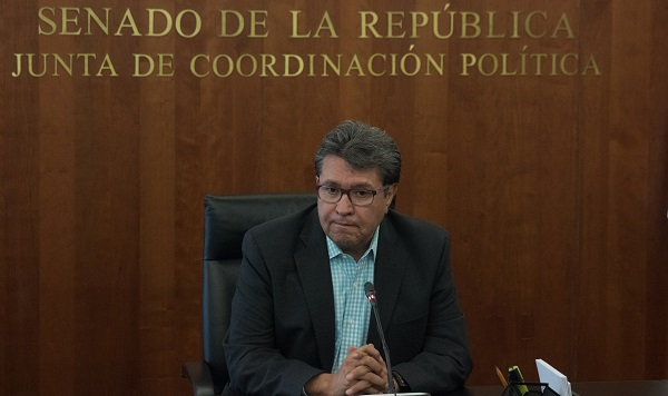 Monreal Ávila justificó que