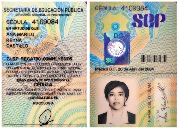 Ana Marilú estudió la licenciatura en Psicología en la Autónoma de Nuevo León. Foto: Especial