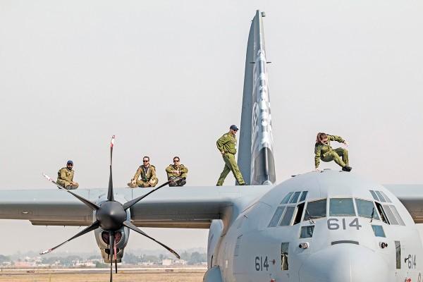 La SCT afirmó que el aeropuerto de Santa Lucía no está en riesgo. Foto: Cuartoscuro