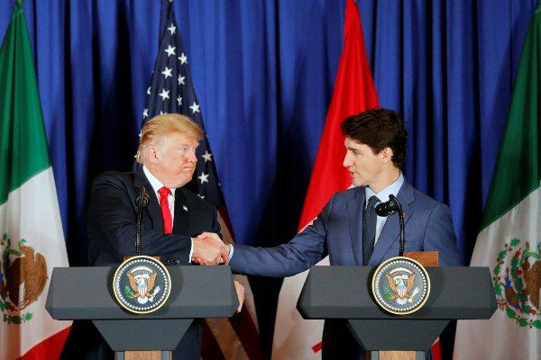 Trump Estados Unidos Trudeau Canadá