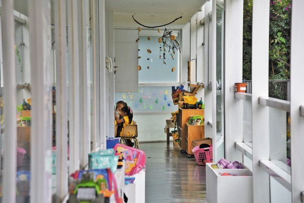 La escuela Kuruwi utiliza un modelo educativo llamado Reggio Emilia. Foto: Daniel Ojeda