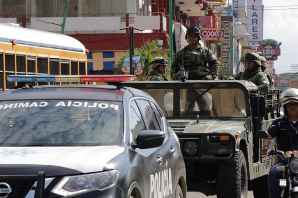 Guardia Nacional patrulla frontera sur México