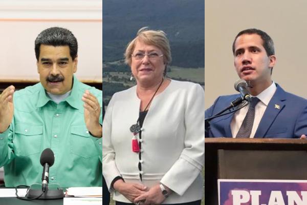 Bachelet-Maduro-Guaido-Venezuela-ONU