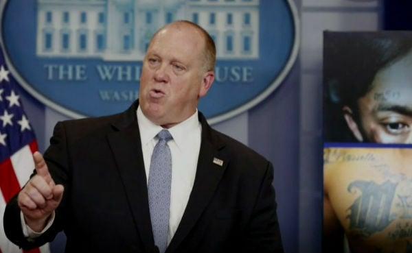 """Homan """"me va a reportar directamente a mí"""", enfatizó el presidente estadunidense al programa """"Fox and Friends"""" GfoFo"""