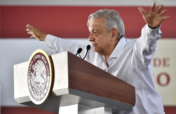 """Andrés Manuel López Obrador encabezó el acto """"Programas Integrales de Bienestar"""" y """"Zona Libre de la Frontera Norte"""". Foto: Cuartoscuro"""