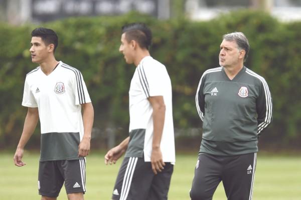 El Tricolor de El Tata arranca su camino en el torneo de la Concacaf. Foto: Mexsport