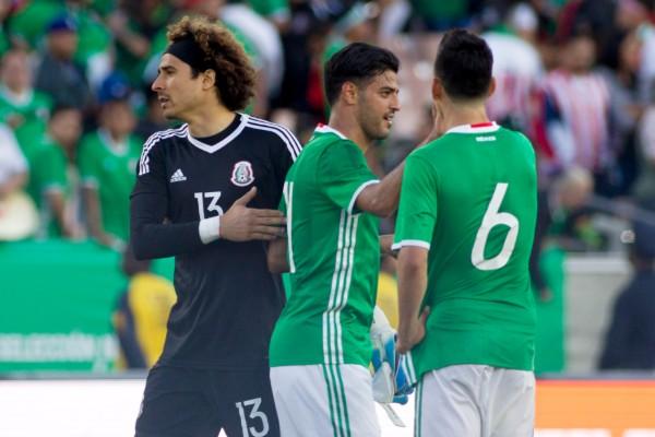 Alienación México vs Cuba Copa Oro