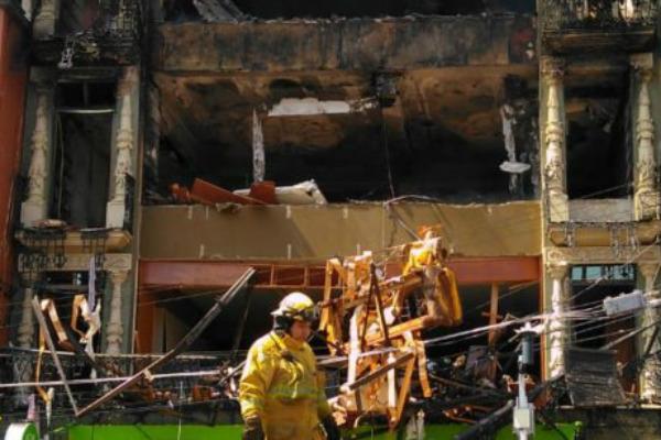 Los hechos ocurrieron en la zona Centro del municipio. Foto: Especial.
