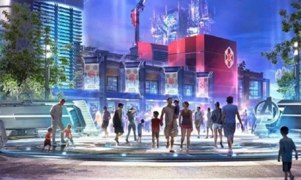 Concepto Disneyland Universo Marvel