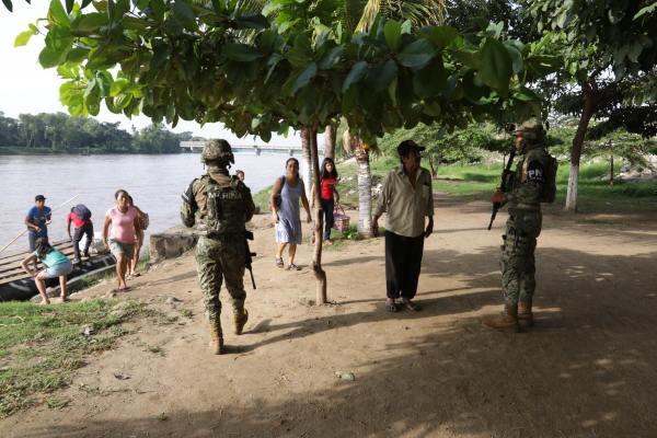 La presencia militar se encuentra en tres municipios de Chiapas. Foto: Marco Polo