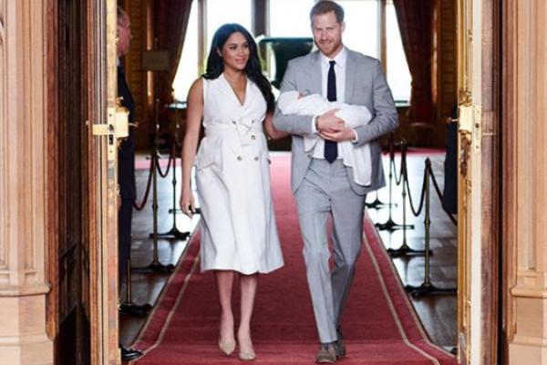 El duque de Sussex celebra el día del padre con fotografía