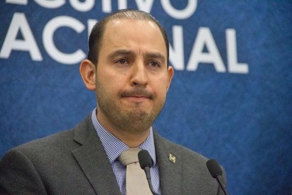 Marko Cortés Mendoza, dirigente del PAN