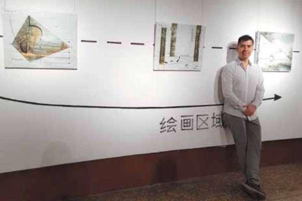 La obra se exhibe como parte de la muestra Compartir la belleza. Foto: Especial