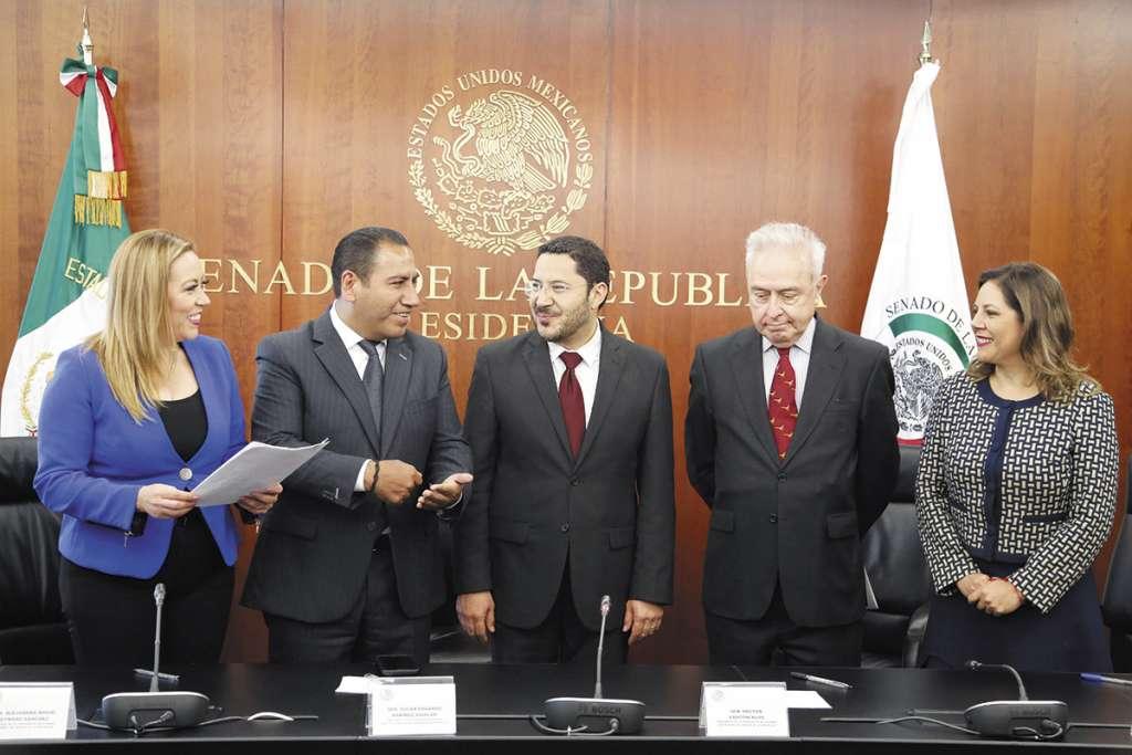 El viernes pasado se aprobó en comisiones el tratado comercial.. FOTO: ESPECIAL