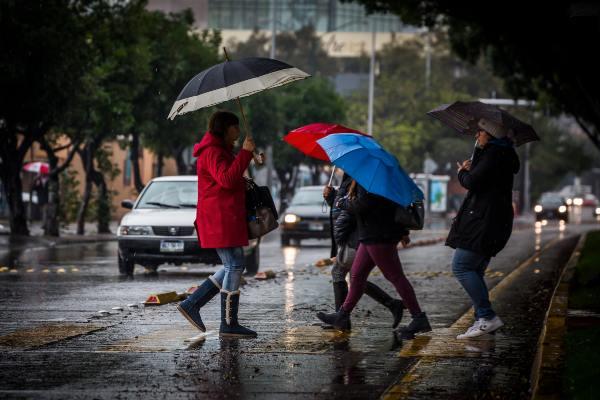 Las lluvias podrían ser con actividad eléctrica, rachas de viento y posible granizo. Foto: Archivo | Cuartoscuro