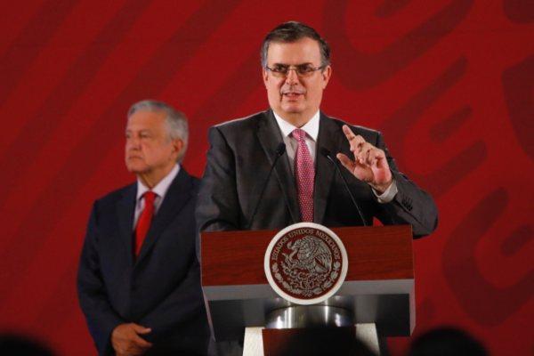 Marcelo Ebrard SRE Frontera Sur
