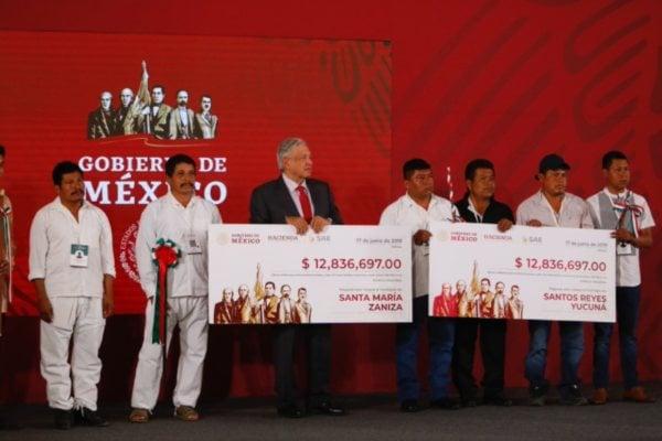 AMLO Oaxaca Subasta