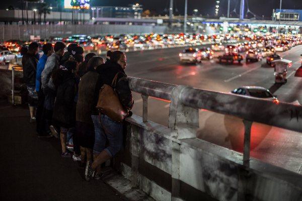 Cruce fronterizo México EU