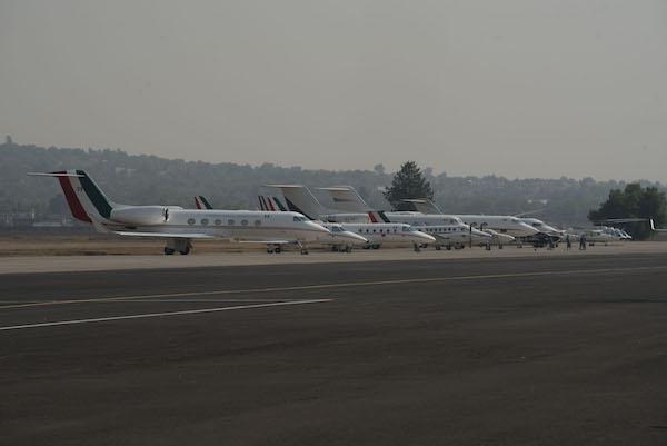 Grupo Aeroportuario Aeropuerto Santa Lucia suspension