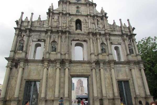 Ruinas de San Pablo de Macao no pertenecen a una catedral sino a la antigua iglesia Madre de Dios. Fotos: Lizeth Gómez