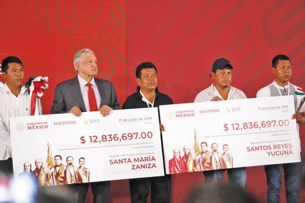 Las zonas de Santa María Zaniza y Santos Reyes Yucuná, de Oaxaca, recibieron recursos. Foto: Nayeli Cruz