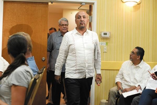 El subsecretario Reyes Zúñiga, de gira por Chiapas, informó de la solicitud de una línea de crédito de México al BID. Forto: Cuartoscuro