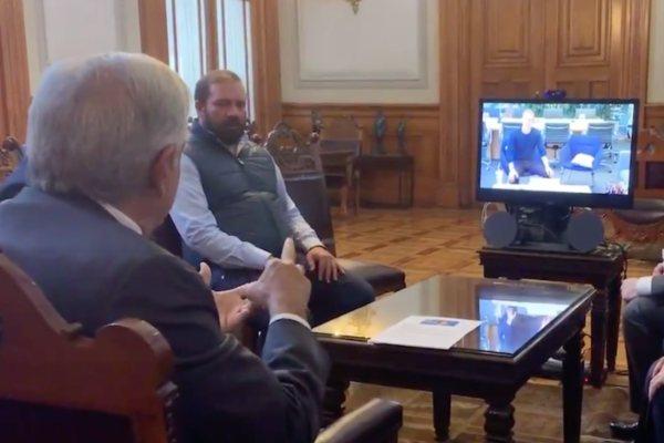 AMLO López Obrador Zuckerberg