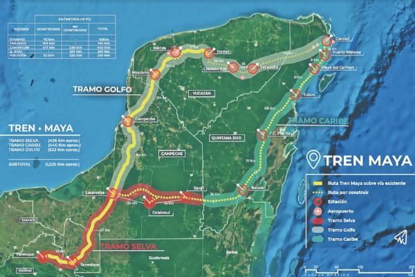 Las ofertas van desde los 346.8 millones a los 484.9 millones de pesos para la ingeniería básica del Tren Maya. Foto: Especial