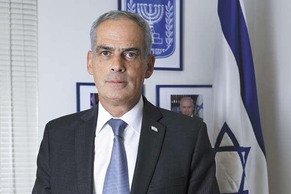 PARTIDA. Jonathan Peled prontó dejará la embajada. Foto: NAYELI CRUZ