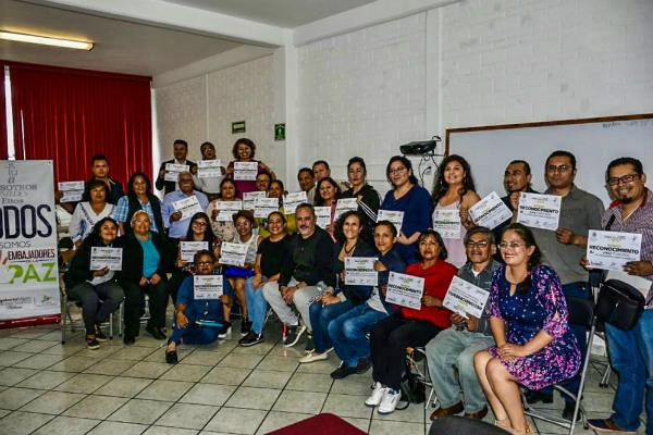 Embajadores de la Paz es un proyecto muy noble, cuyo objetivo es sumar a más personas para fomentar y fortalecer los valores, partiendo de la cultura, la educación, los derechos humanos, entre otros. Foto: Especial.