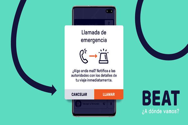 BEAT Emergency button