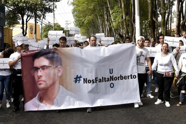De acuerdo con las autoridades, ambas son ajenas a la comunidad de la Universidad del Pedregal; sin embargo tuvieron una colaboración importante con el homicidio de Norberto Ronquillo. Foto: Cuartoscuro