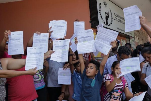 Protesta-migrantes-CNDH-Chiapas
