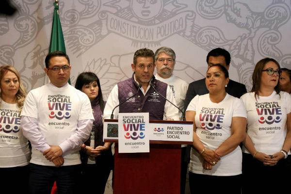 El diputado del PES por Morelos, Jorge Arguelles aseguró que dicha propuesta va en contra de los derechos políticos. Foto: Especial.